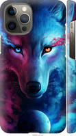 "Чехол на Apple iPhone 12 Pro Max Арт-волк ""3999c-2054-11634"""