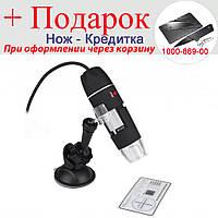 Цифровий USB мікроскоп Magnifier 500х, ендоскоп, бороскоп
