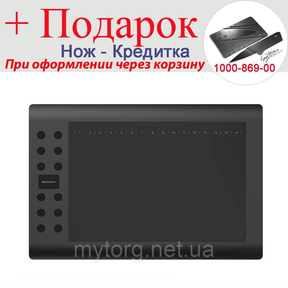 Графический планшет Gaomon M106K USB 10x6 дюймов