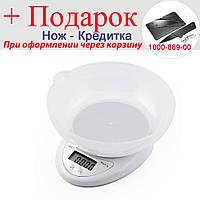 Кухонні ваги Electronic B05 5 кг + Чаша