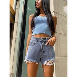 Шорты джинсовые короткие 11022#