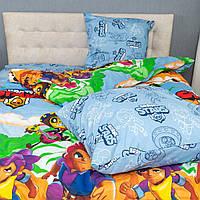 Детский комплект постельного белья Kris-Pol «Brawl Stars» 150x220 Бязь