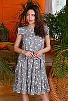 """Сукня жіноча молодіжний літній з принтом, розміри 44-48 """"INGHIR"""" купити недорого від прямого постачальника"""