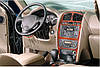 Hyundai Santa Fe 1 2000-2006 гг. Накладки на панель