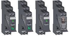 Інтерфейсні реле RXG, плоскі контакти (тип Faston)