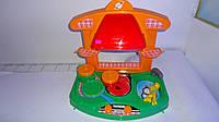 Детская кухня плита с посудкой Орион.Детская игровая кухня  с посудой.Кухонная мебель детская.Дитяча кухня Орі