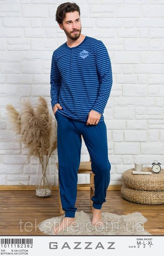 Пижама мужская трикотажная Gazzas L