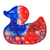 "Іграшка-антистрес ""POP-IT"" PPT-D (Red-Blue) Качечка"