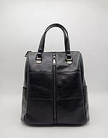 Женская сумка - рюкзак черный цвет, фото 1