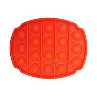 """Іграшка-антистрес """"POP-IT"""" PPT-O(Orange) Овал"""