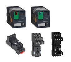 Промежуточные (электромеханические) миниатюрные реле Zelio Relay RXM от Schneider Electric на токи 3