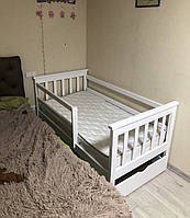 Детская кровать Адель 80х160 БЕЛАЯ