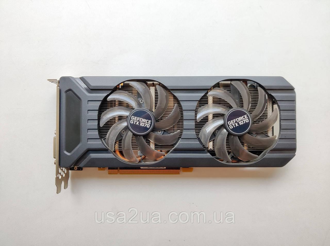 Відеокарта PNY GeForce GTX 1070 8GB gddr5 256 BIT гарантія кредит