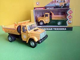 Іграшка самоскид Зіл-4329 вантажівка X Toys