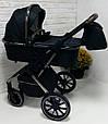 Детская Коляска 3 в 1 Carrello Aurora CRL-6502 (Каррелло Аврора) Space Black +дождевик, фото 4