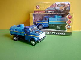 Іграшка водовоз Зіл-4329 цистерна вантажівка X Toys