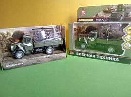 Іграшка бортовий військовий Зіл-4329 вантажівка X Toys