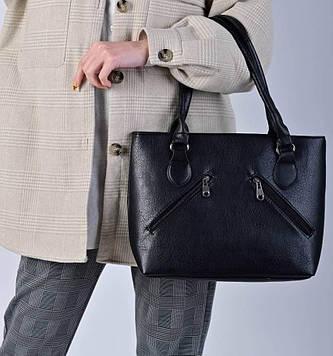 Женская черная сумка код 7-27