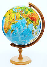 Глобус политический 320 мм, с подсветкой, английский язык, пр-во Польша