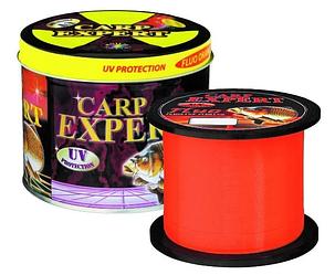 Леска Carp Expert UV Fluo Orange 1000 м 0.25 мм 8.9 кг оранжевая