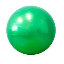 Дитячий м'яч для фітнесу (фітбол) 75 см (глянець, в пакеті) Profi (MS 0383) Салатовий