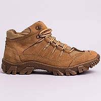 Ботинки Тактические, Зимние Альфа Песочные, фото 1