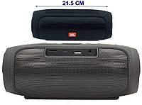 Мобильная Колонка JBL Charge E4+, Беспроводная колонка, Блютуз Портативная колонка с fm-радио, флешкой, Черная