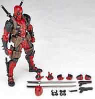 Фигурка Дэдпул коллекционная с набором оружия (20 см) Marvel