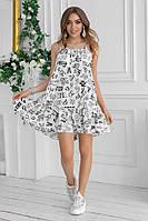 Платье жеское в расцветках 82635