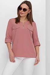 Блуза 1848 фрезовий