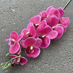 Орхидея ветка фаленопсис силикон розовая 95 см