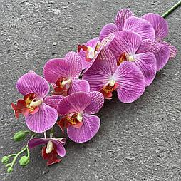 Орхидея ветка фаленопсис силикон сиреневая 95 см