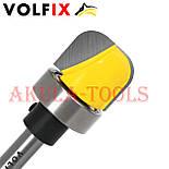 Пазова фасонна галтельна фреза з підшипником VOLFIX для виготовлення жолобків тарілок чаш лотків підносів, фото 5