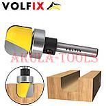 Пазова фасонна галтельна фреза з підшипником VOLFIX для виготовлення жолобків тарілок чаш лотків підносів, фото 4
