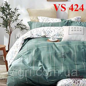 Постельное белье двуспальное, сатин, Вилюта «Viluta» VS 424