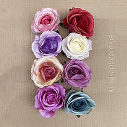 Головка розы раскрытая 11см (10 шт в уп)