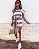 """Сукня жіноча молодіжний літній в смужку, розмір 42-46 (2цв)""""MARGARET"""" купити недорого від прямого постачальник"""