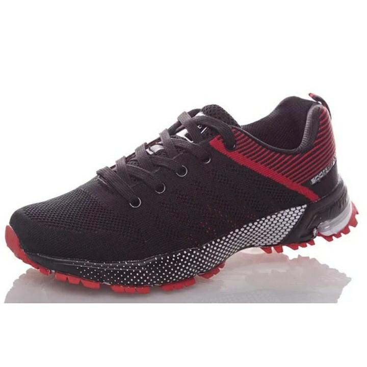 Кросівки Bonote р. 44 текстиль чорні з червоним