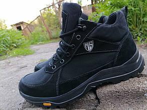 Кросівки тактичні високі демісезонні MAX Resolution, Чорні
