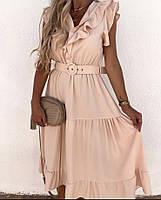 Платье женское с ремнем 82651