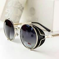 Versace Версаче солнцезащитные очки женские брендовые круглые 2021 логотип