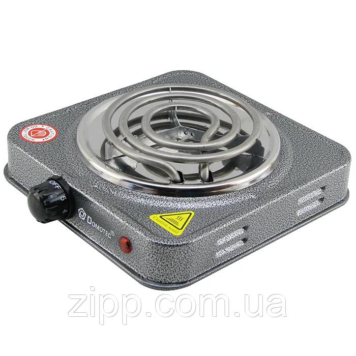 Электроплита DOMOTEC MS-5801 - 1 конфорка | Электроплиты DOMOTEC | Электрическая плита | Эмалированная  плита