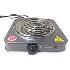 Электроплита DOMOTEC MS-5801 - 1 конфорка | Электроплиты DOMOTEC | Электрическая плита | Эмалированная  плита, фото 3
