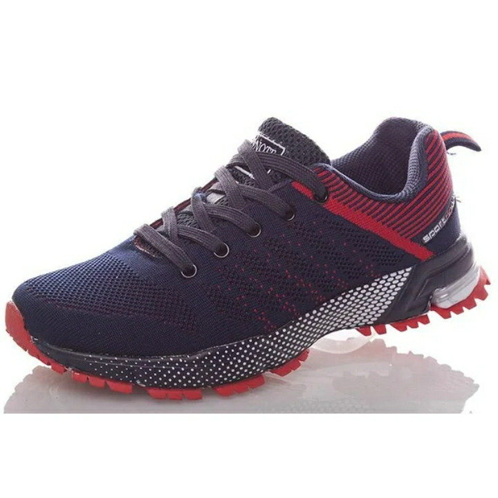 Кросівки Bonote р. 36 текстиль сині з червоним