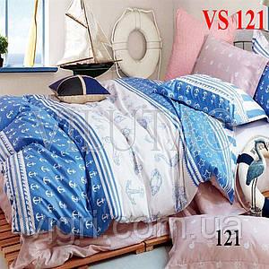 Постельное белье двуспальное, сатин, Вилюта «Viluta» VS 121
