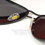 Мужские солнцезащитные очки Cartier Авиатор Aviator с поляризацией Polarized Картье реплика, фото 5