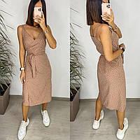 Платье женское на запах 82664