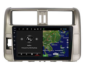 Штатная магнитола Toyota Prado 150 2010-2013 год. 2Gb/32Gb Android 9.0