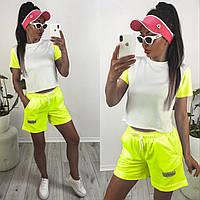 """Костюм 2-ка жіночий літній з шортами розміри 42-48 (4кол) """"ASSORTI"""" недорого від прямого постачальника"""