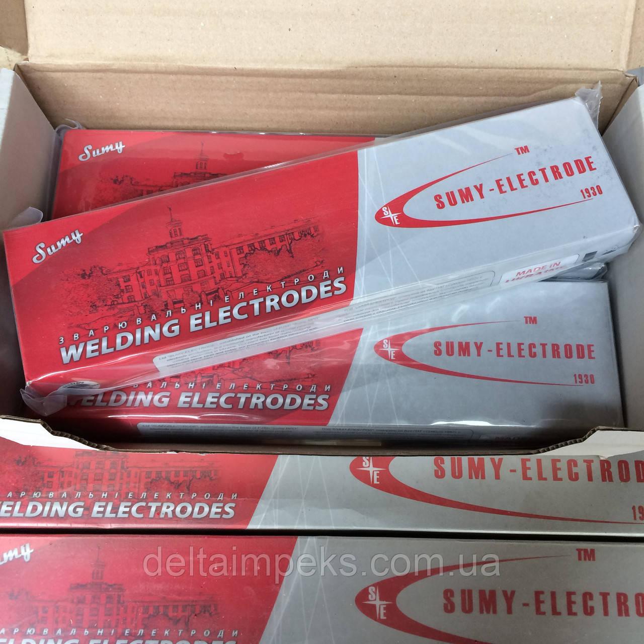 Електроди для зварювання міді Комсомолець-100, 4мм